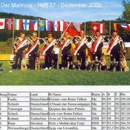 Der Malinois - Heft 17 - Dezember 2000
