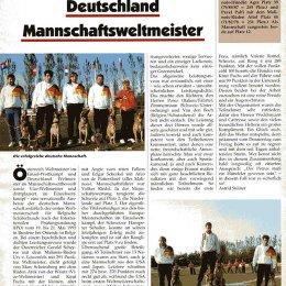 Deutschland Mannschaftsweltmeister